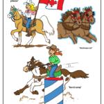 Stampede princess, barrel rider, chuckwagon horses